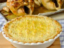 Smoked Cheddar Duchess Potatoes, an ultimately luxurious potato side dish.