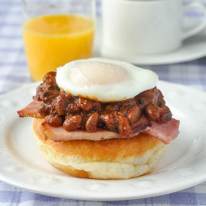 Baked Beans Eggs Benedict