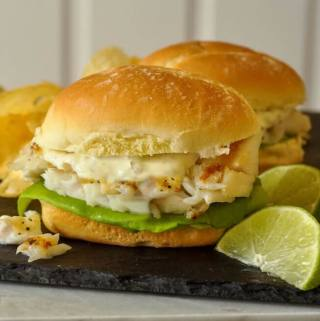 Grilled Cod Sandwich on D'Italiano Brizzolio Rolls