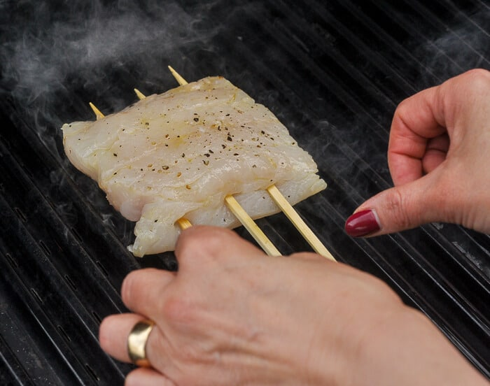 grilling cod