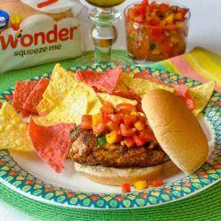 Mexican Spice Grilled Chicken Sandwich