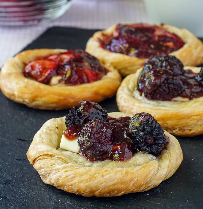 3 ingredient Cream Cheese Danish- so quick and easy to make.