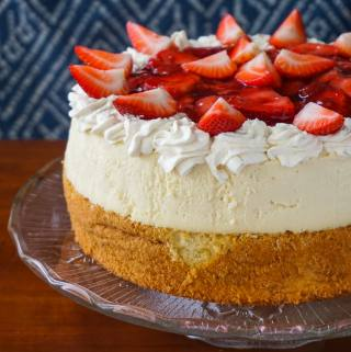 Strawberry Shortcake Cheesecake featured image