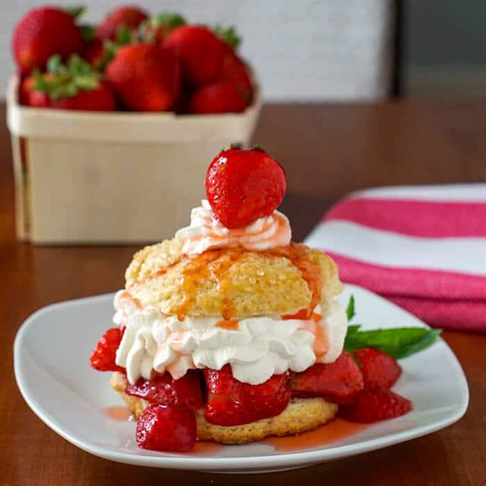 Sweet Biscuit Strawberry Shortcake