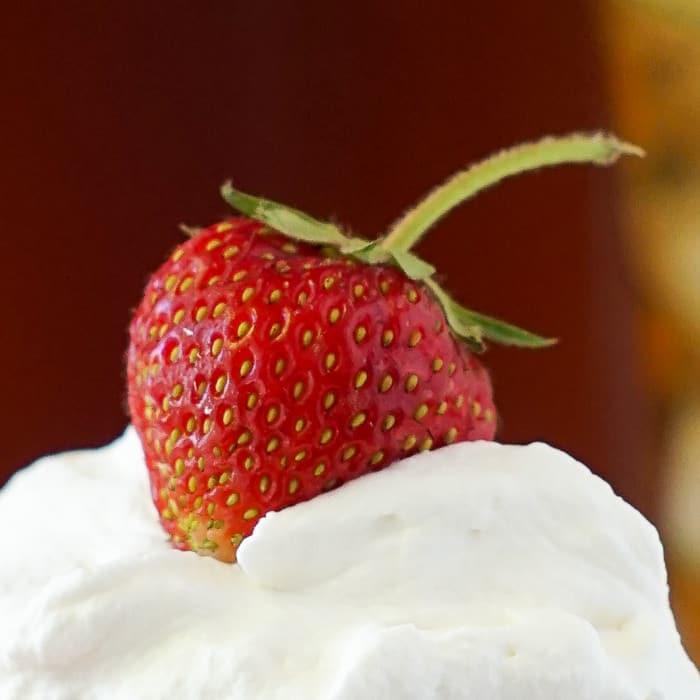 White Velvet Strawberry Shortcake