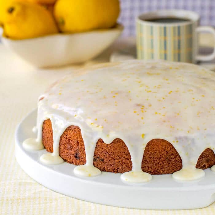 Lemon Sour Cream Coffee Cake