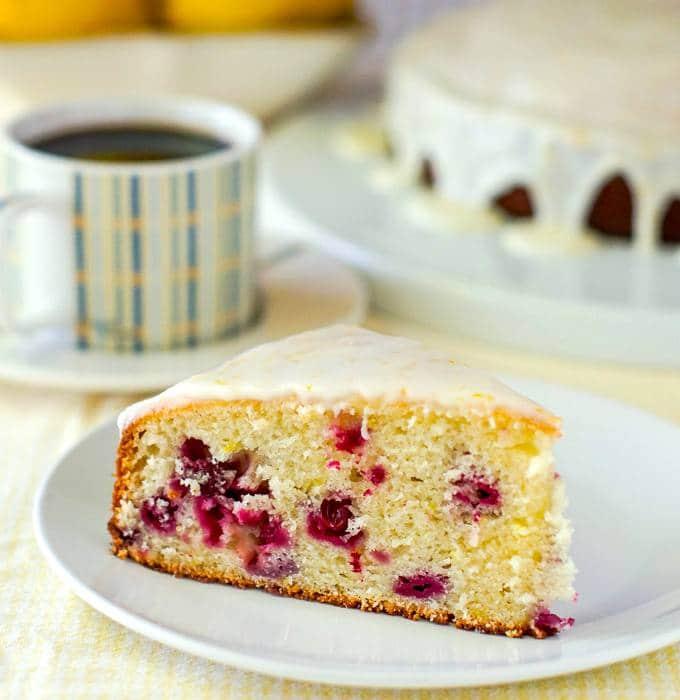 Lemon Sour Cream Coffee Cake