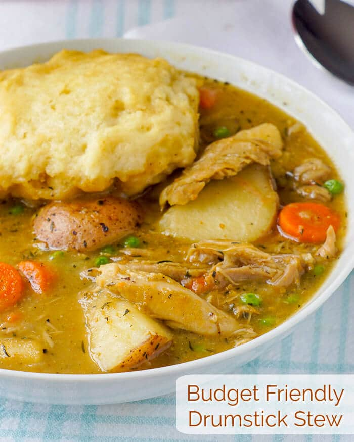 Budget Friendly Drumstick Stew