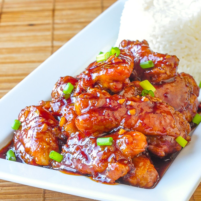 Low Fat Baked General Tso S Chicken In Our Top 10 Recipes