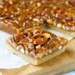 Honey Nut Cookie Bars