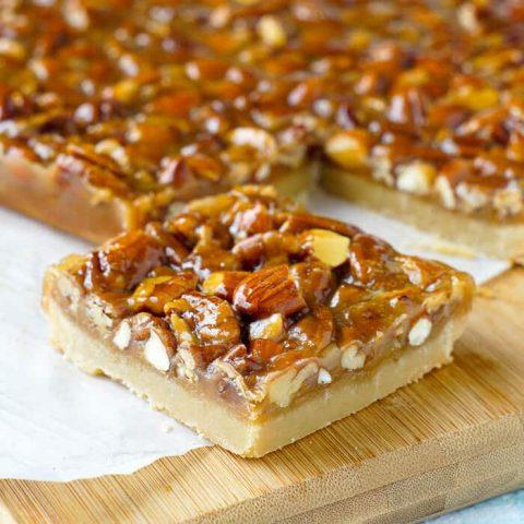 Honey Nut Cookie Bars
