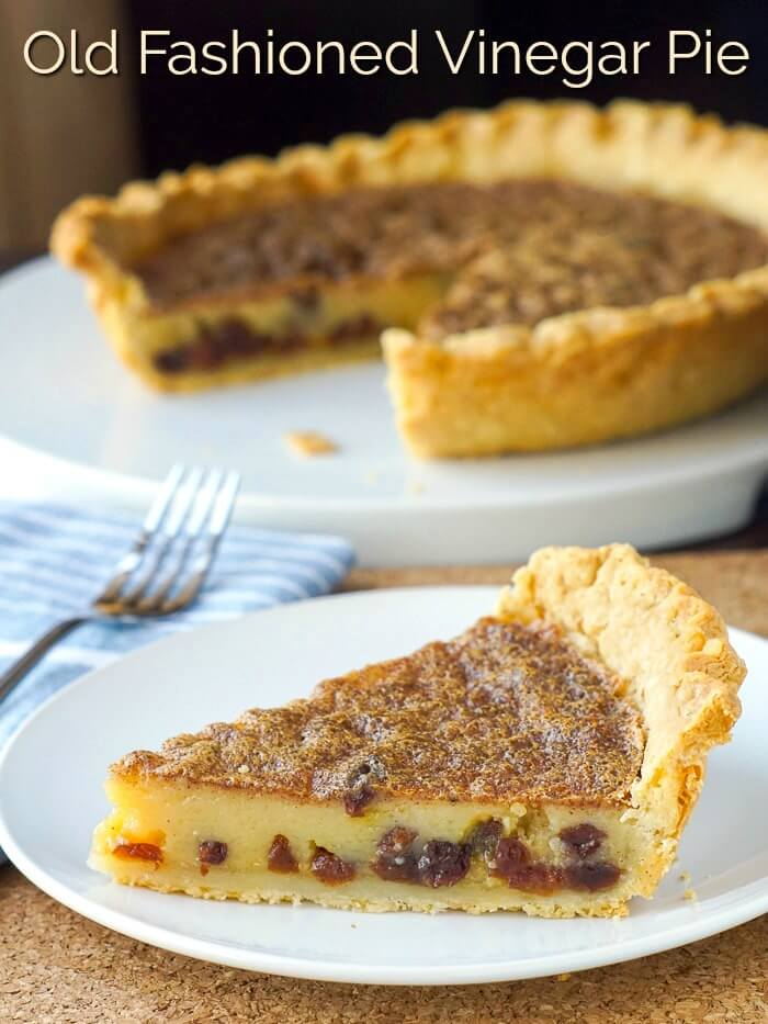 Vinegar Pie image with title text