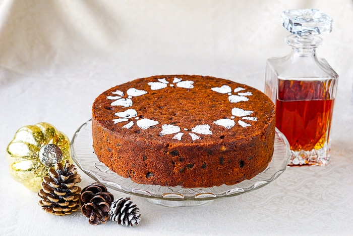 Apricot & Brandy Fruitcake