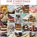 20 no bake cookies for Christmas