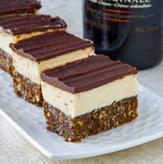 Irish Cream Nanaimo Bars