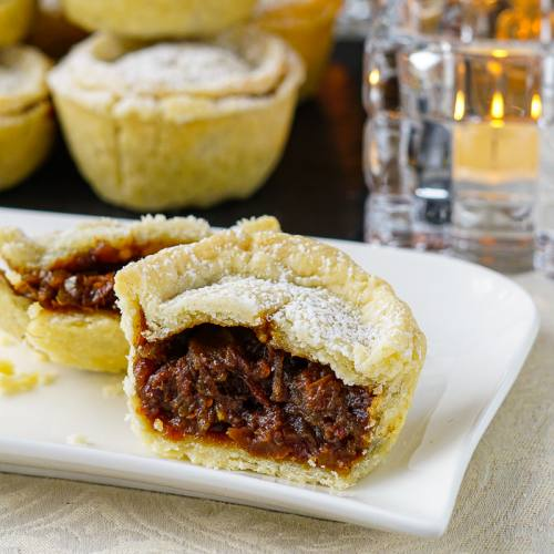 Mince Pies With Clementine And Brandy