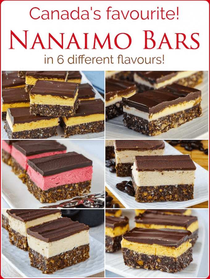 The Nanaimo Bar Recipe Collection