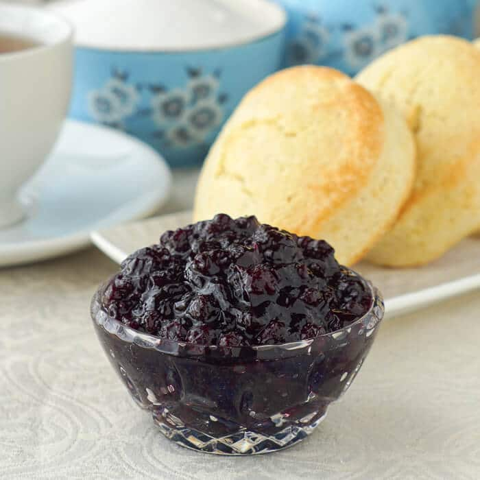 Newfoundland Blueberry Jam with Lime