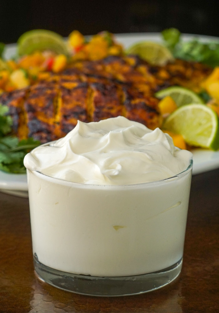 Yogurt for Tandoori Grilled Chicken marinade