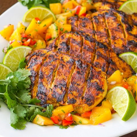 Tasty Tandoori Grilled Chicken with a Twist