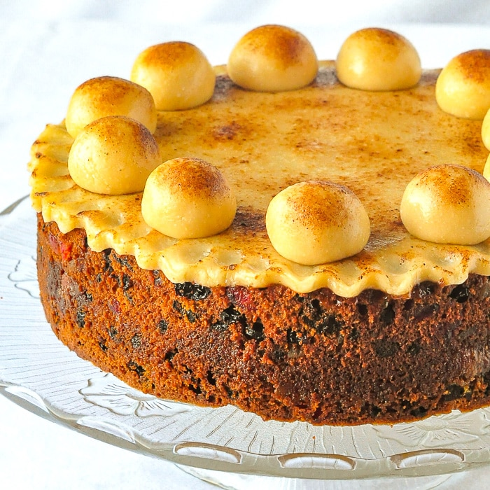 Easter Simnel Cake featured recipe image
