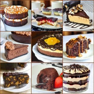 Best Chocolate Dessert Recipes square photo collage