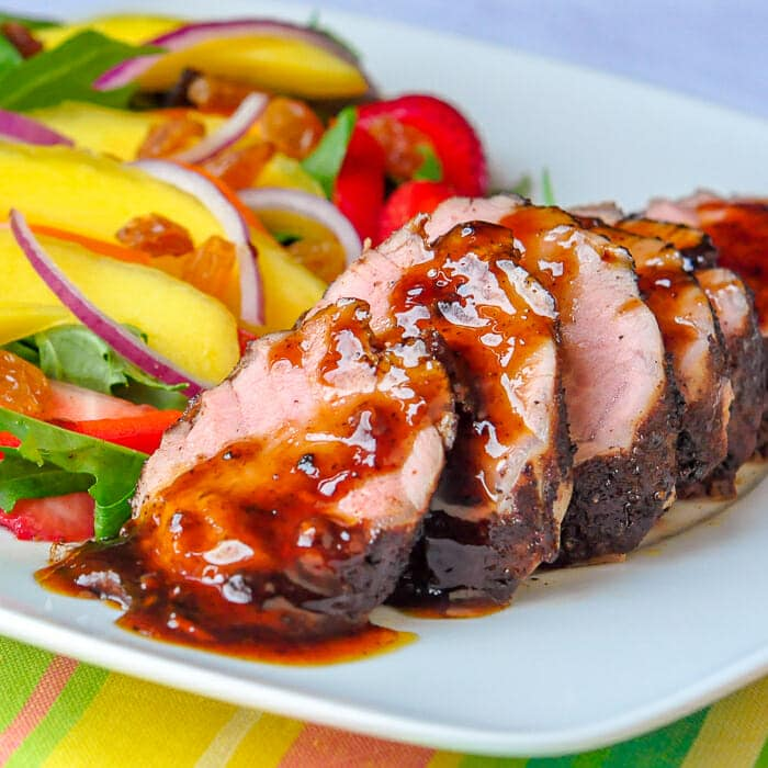 Rum Spice Glazed Pork Tenderloin featured image