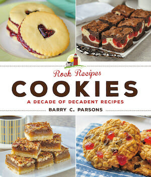 ROCK RECIPES COOKIE BOOK FRONT COVER