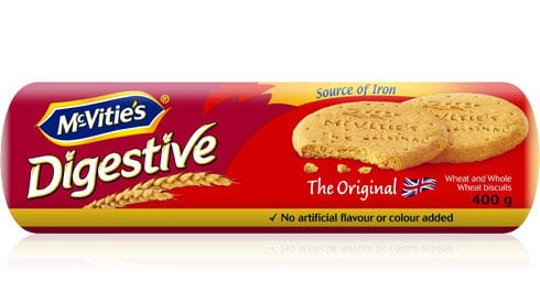 McVities Digestive Biscuits.