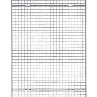 HIC Harold Import Mrs. Anderson's Professional Half Sheet Baking and Cooling Rack, Heavyweight Chrome, 16.5-Inch by 11.75-Inch, Silver