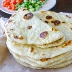 Yogurt Flatbreads close up featured square photo