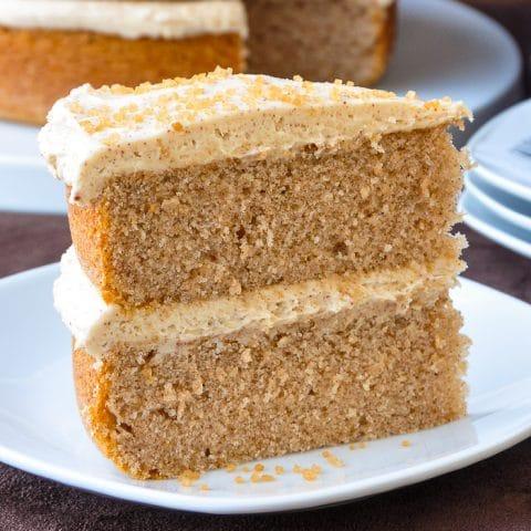 Spice Velvet Cake