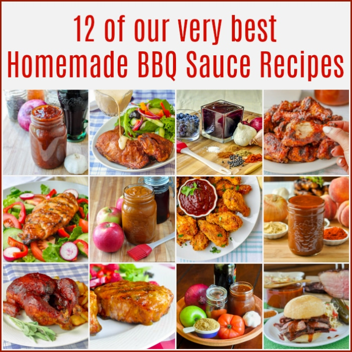 Best Barbecue Sauce Recipes featured image collage