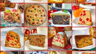 Best Newfoundland Christmas Cakes Collage
