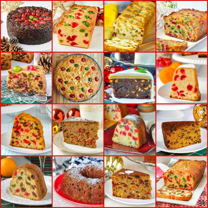 Best Newfoundland Christmas Cakes Collage
