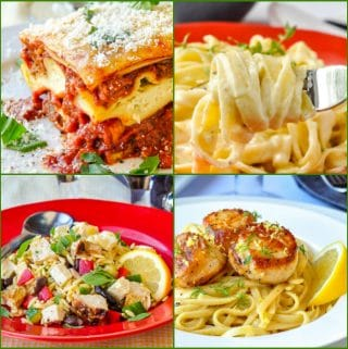 Best Pasta Dishes photo collage featured image