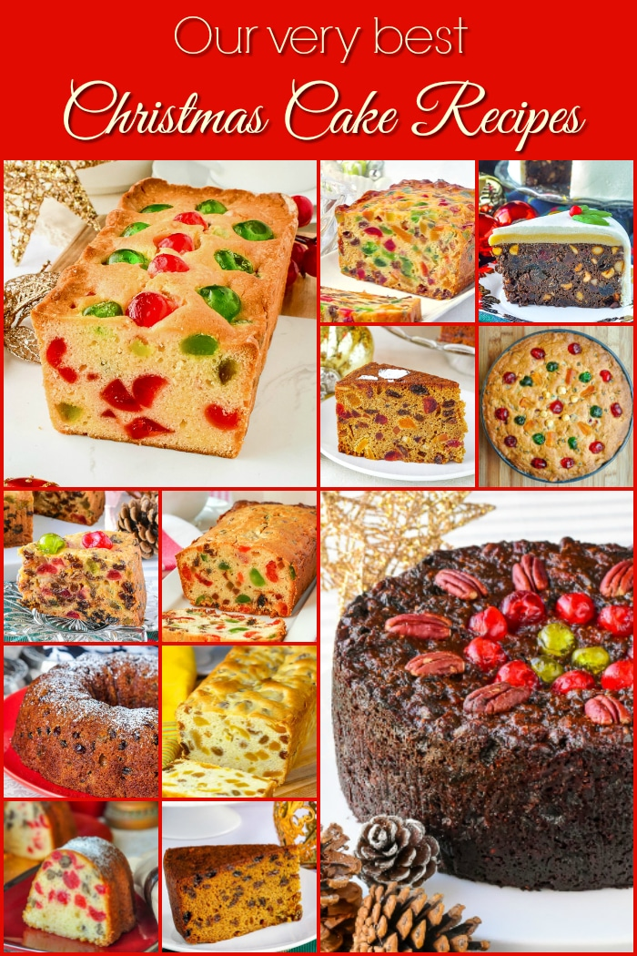 Rock Recipes Best Newfoundland Christmas Cakes Collage for Pinterest