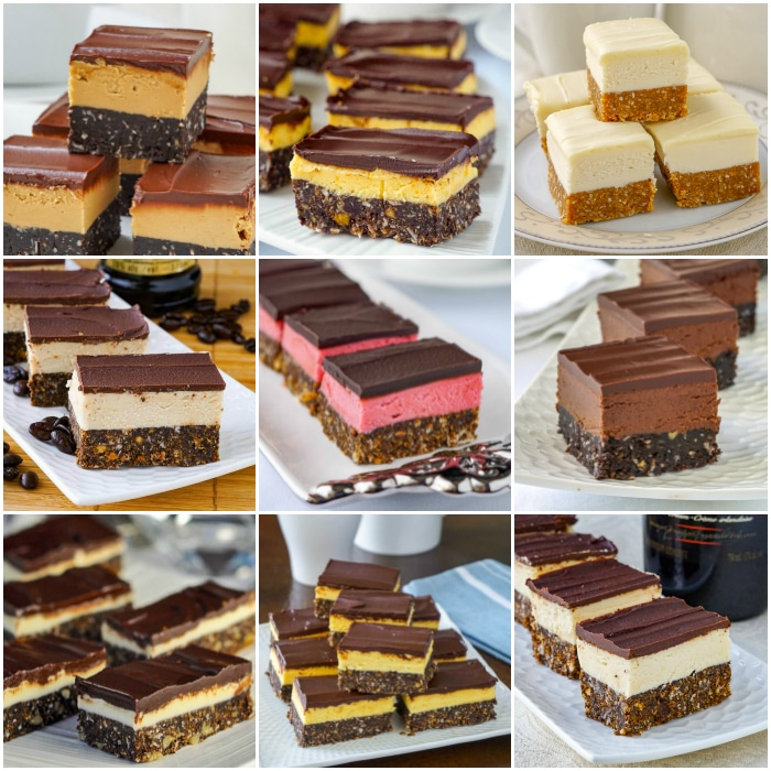 The Nanaimo Bar Collection photo collage for featured image