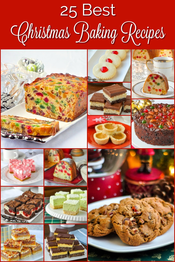 Best Christmas Baking Recipes photo collage