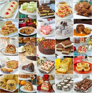 Best Christmas Baking Recipes square photo collage