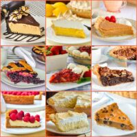 New top ten pie recipes square collage for featured image