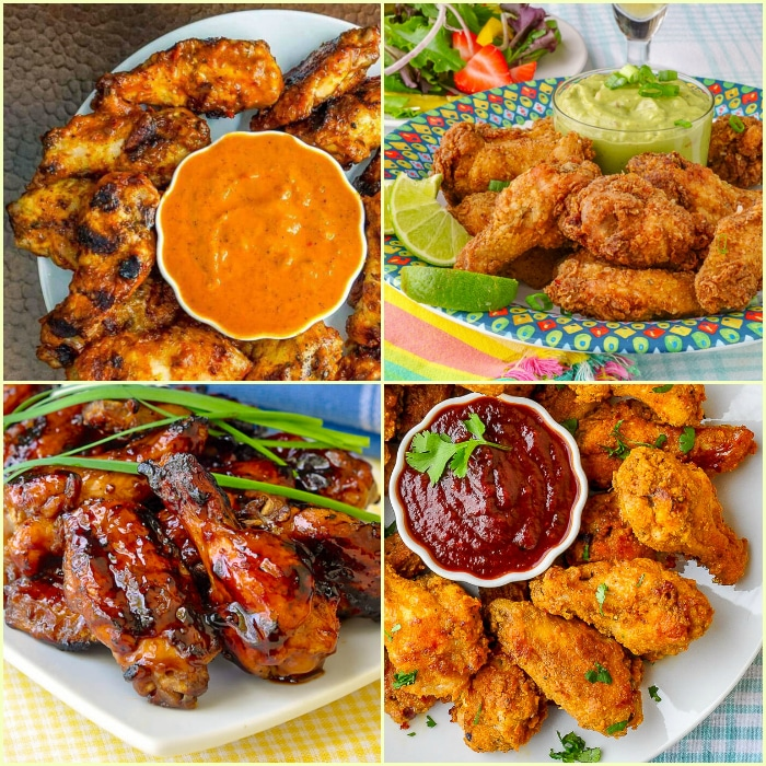 20 Fantastic Chicken Wing Recipes