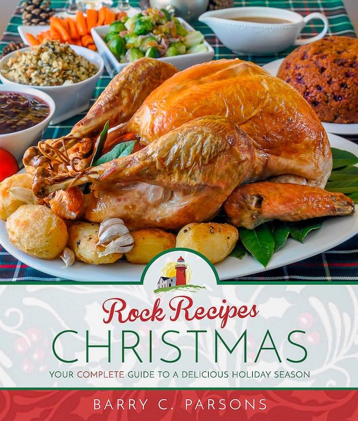 Rock Recipes Christmas Cookbook cover