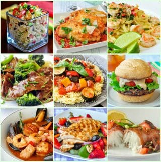 Best Healthy Eating Recipes 9 photo collage for featured image