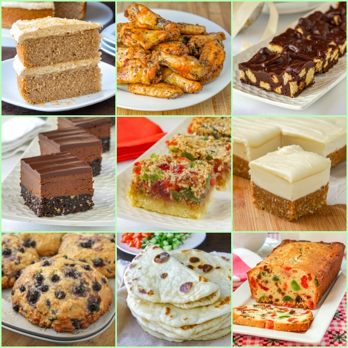 Top New Recipes of 2019 photp collage for featured post image
