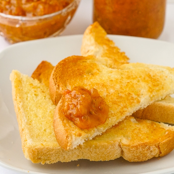 Jam close up photo of jam on toast