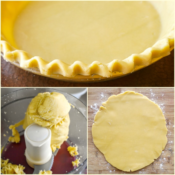 How to make Sweet Short Crust Pastry. Square photo collage for featured image