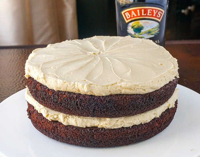 Irish Coffee Cake photo of uncut cake