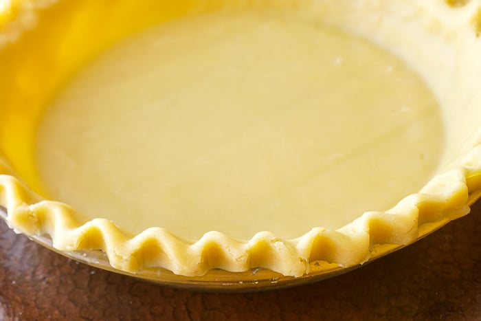 Sweet Short Crust pastry as a pie or tart shell