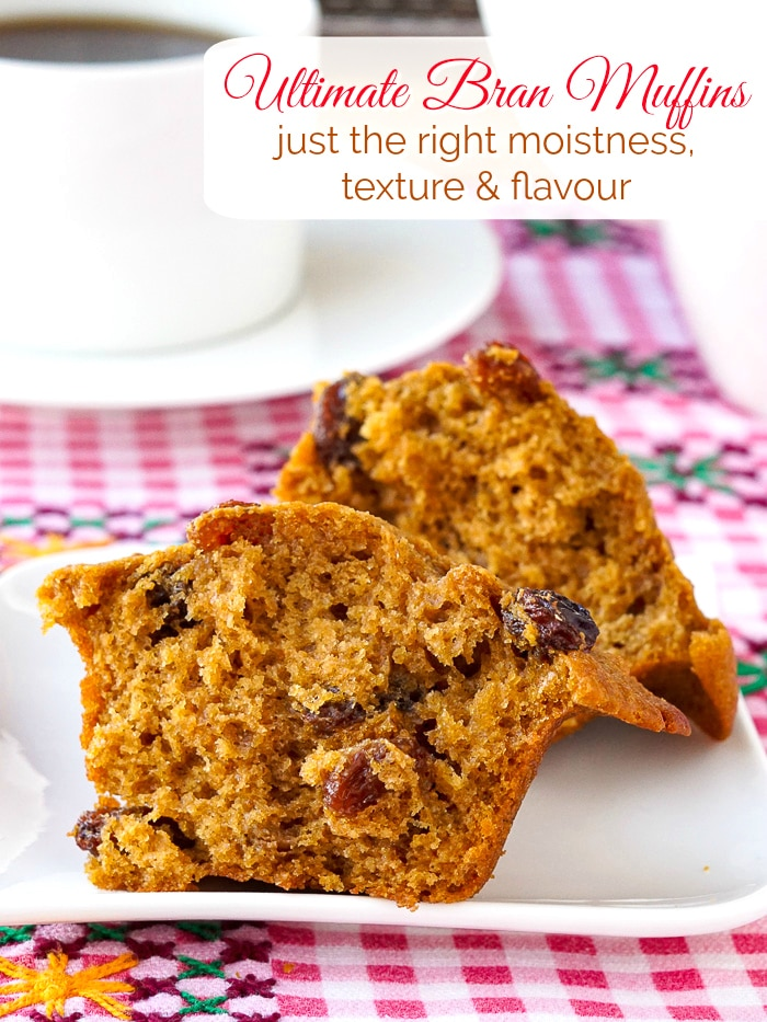 Ultimate Bran Muffins photo with title text for Pinterest